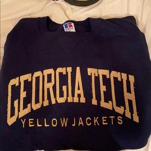 Vintage Georgia Tech sweatshirt